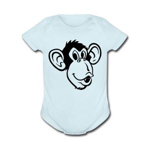 Monkey-face One size - Short Sleeve Baby Bodysuit