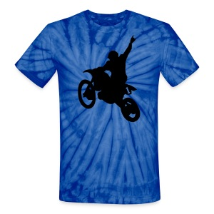 Dirt Bike - Unisex Tie Dye T-Shirt