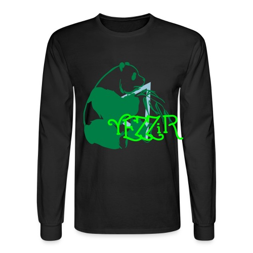 Yezzir - Panda 2 - Men's Long Sleeve T-Shirt