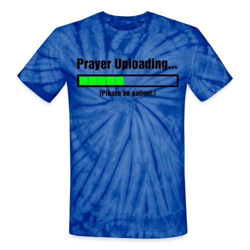 Cross of love - Unisex Tie Dye T-Shirt