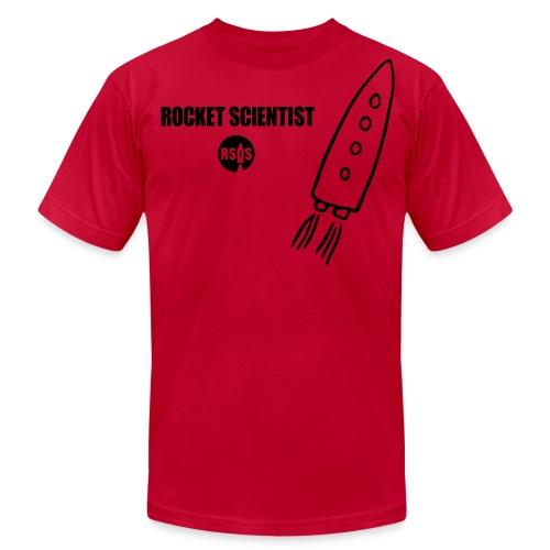 Saturn Rocket Science Tee - Men's Fine Jersey T-Shirt