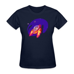 Space Monkey (women's) - Women's T-Shirt