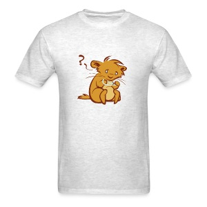 Hamster with String (men's) - Men's T-Shirt