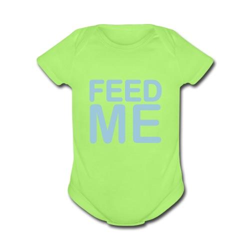 Laughs - Organic Short Sleeve Baby Bodysuit