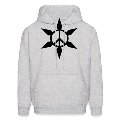 Peace Ninja Star - Men's Hoodie