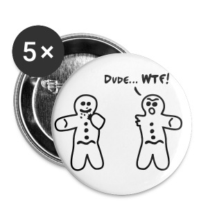 Gingerbread Dead - Large Buttons