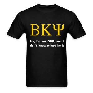 BKPsi - not Ode T-shirt - Men's T-Shirt