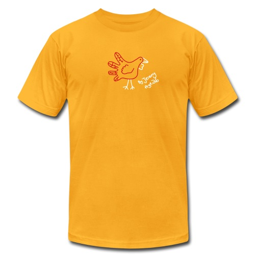 [handturkey] - Men's T-Shirt by American Apparel