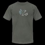 T-Shirts ~ Men's T-Shirt by American Apparel ~ [handturkey]