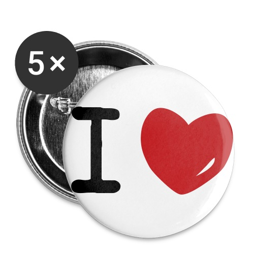 1  - Buttons small 1'' (5-pack)