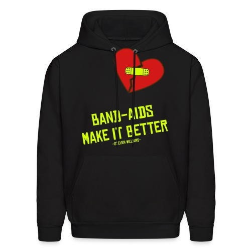 Band-Aids Make It Better - Men's Hoodie