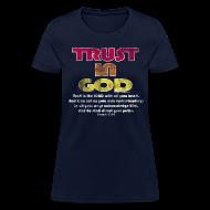 T-Shirts ~ Women's T-Shirt ~ Christian Shirt, Trust in God Cool Christian Shirt, Women's
