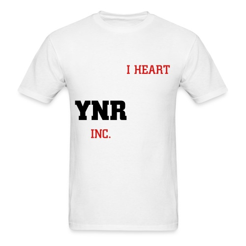 I HEART YNR INC - Men's T-Shirt