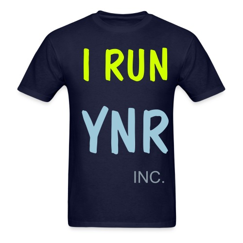 I RUN YNR  - Men's T-Shirt
