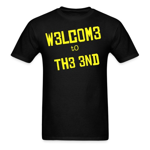 Welcome to the end - T  - Men's T-Shirt