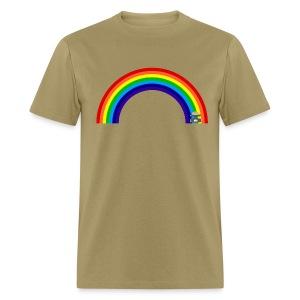 Rainbow\Pie design - Men's T-Shirt