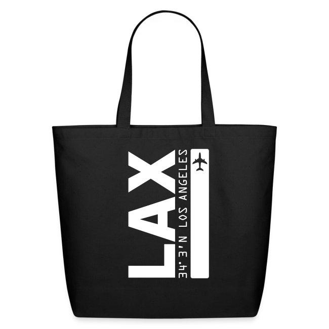 Los Angeles Airport Code LAX  Tote Bag