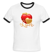 T-Shirts ~ Men's Ringer T-Shirt ~ Love