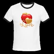 T-Shirts ~ Men's Ringer T-Shirt ~ Love