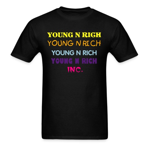 COLOR ME RICH  - Men's T-Shirt