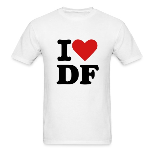 I love DF - Men's T-Shirt
