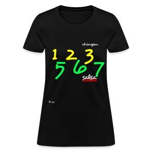 salsa 123 567 - Women's T-Shirt