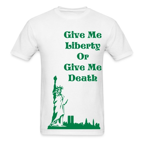 Liberty or Death - Men's T-Shirt