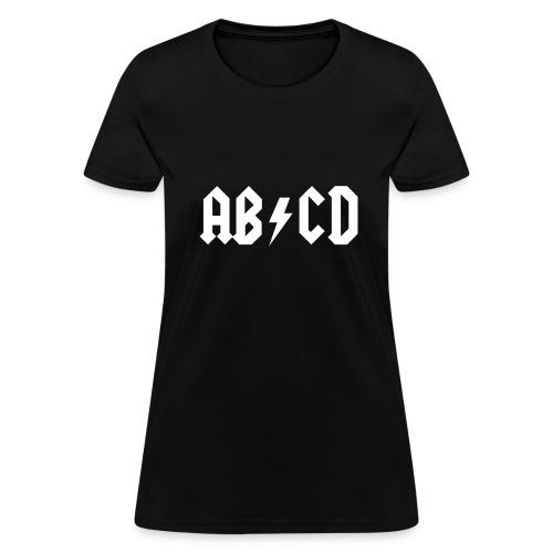 AB CD Tee - Women's T-Shirt