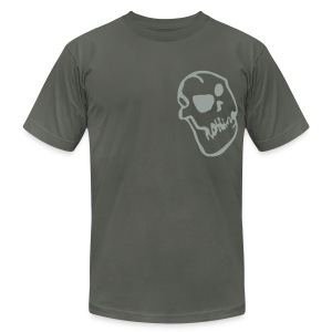 Nothing Skull - Men's T-Shirt by American Apparel