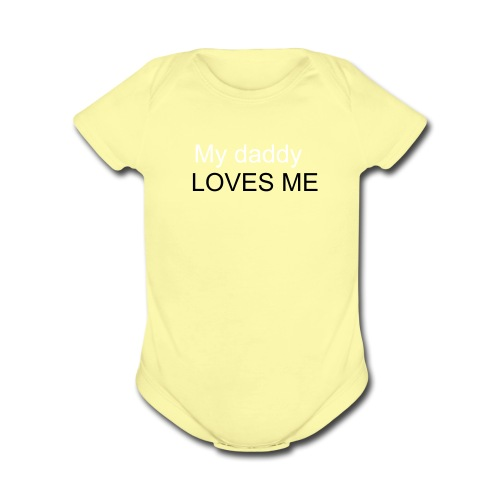 Trevor paul - Organic Short Sleeve Baby Bodysuit