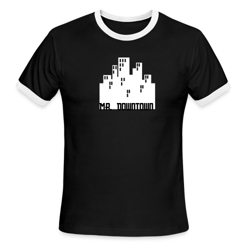 mr. downtown - Men's Ringer T-Shirt