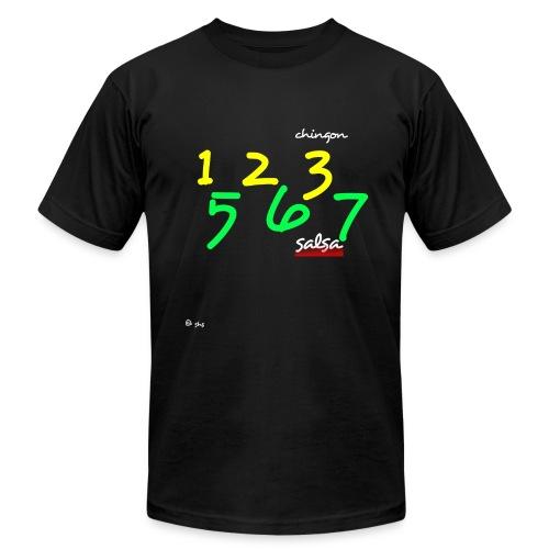 Salsa 123 567 - Men's  Jersey T-Shirt