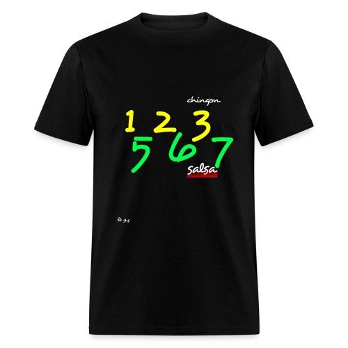 Salsa 123 567 - Men's T-Shirt