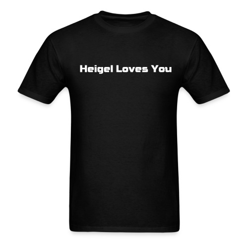 Heigel Loves You Tee - Men's T-Shirt