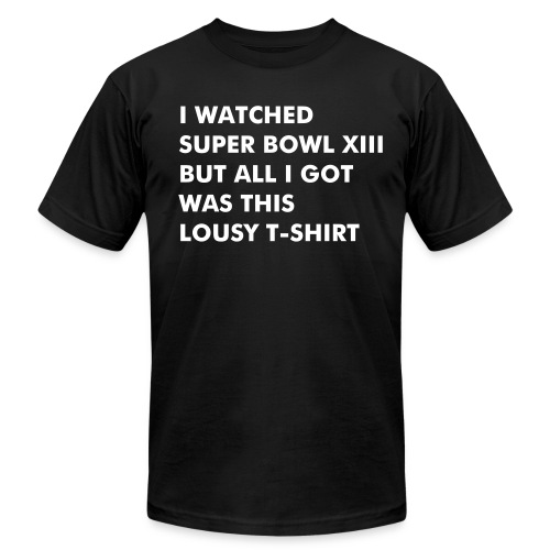 Super Bowl - Lousy T-Shirt for men - Men's  Jersey T-Shirt