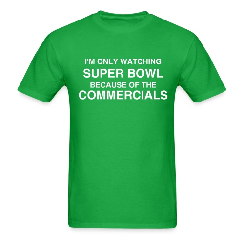 Commercials Rock! Men - Men's T-Shirt