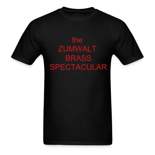 Zumwalt Brass Choir Men T shirt - Men's T-Shirt