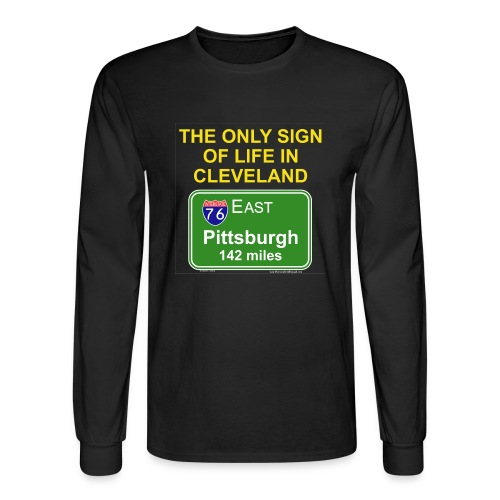 Cleveland SUCKS - Men's Long Sleeve T-Shirt