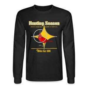 Cardinal Hunting - Men's Long Sleeve T-Shirt