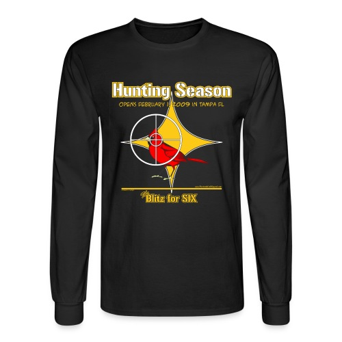 Cardinal Hunting - Men's Long Sleeve T-Shirt