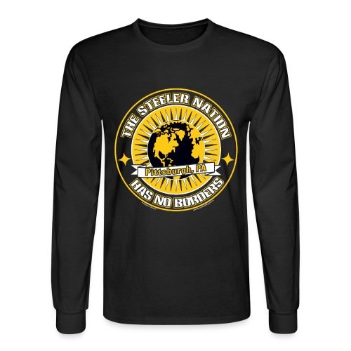 Steeler Nation - Men's Long Sleeve T-Shirt