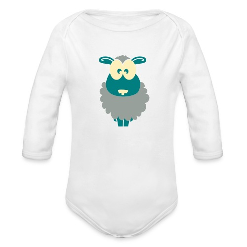 Baby Bib - Organic Long Sleeve Baby Bodysuit