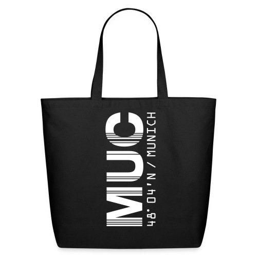 Munich Airport Code Germany MUC Tote Bag - Eco-Friendly Cotton Tote