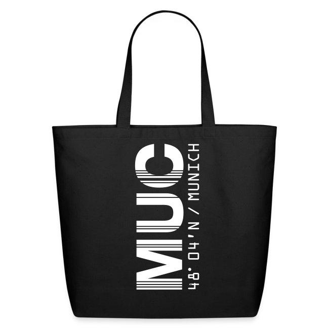 Munich Airport Code Germany MUC Tote Bag