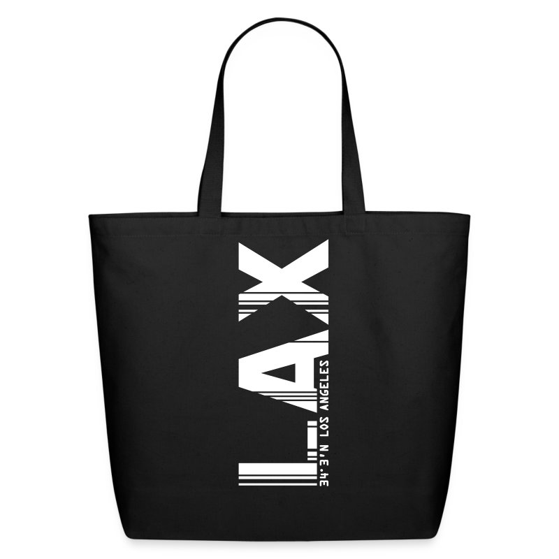 Los Angeles airport code LAX tote bag - Eco-Friendly Cotton Tote