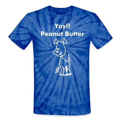 The PB and Pooch - Unisex Tie Dye T-Shirt