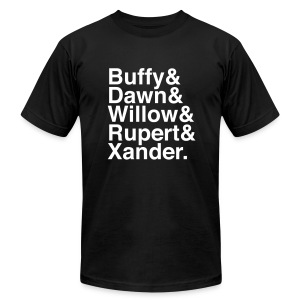 Buffy - The Scoobies - Men's T-Shirt by American Apparel