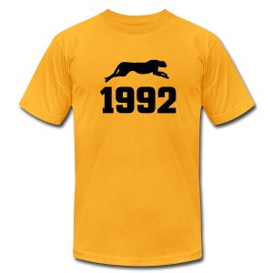 BKP: 1992 The Year of The Panther - Men's T-Shirt by American Apparel