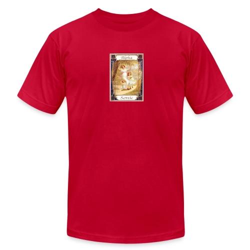 alpha chocolate (Kohler) - Men's Fine Jersey T-Shirt