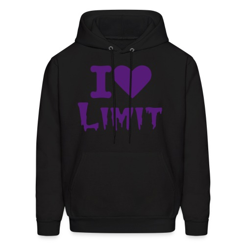 Limit Love PURPLE - Men's Hoodie
